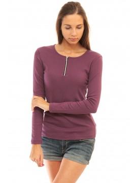Дамска блуза лилава от 4me